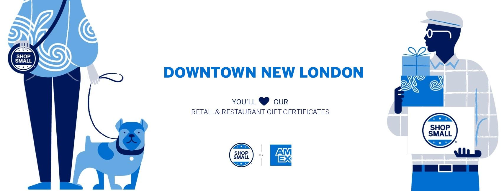 Buy Gift Certificates to Support New London Businesses!